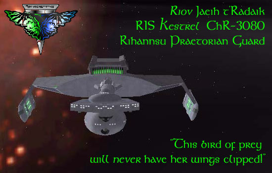 Early Romulan Warbird from 2150
